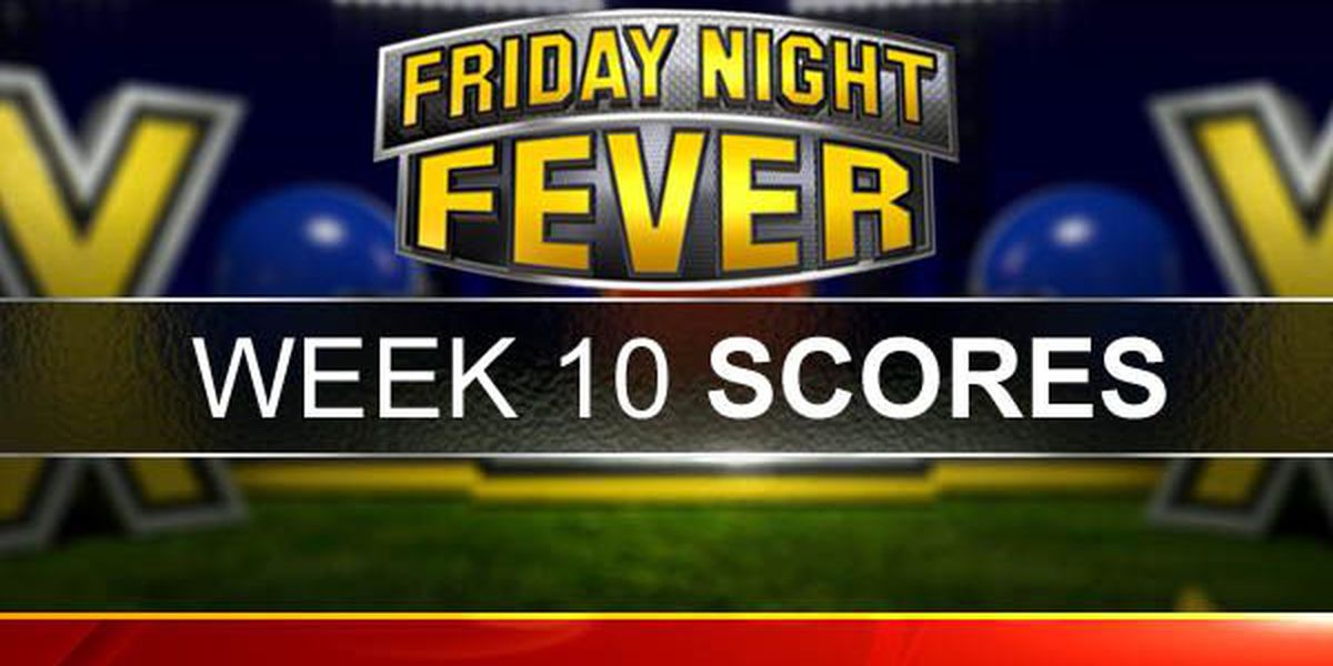 Friday Night Fever Week 10 Scores