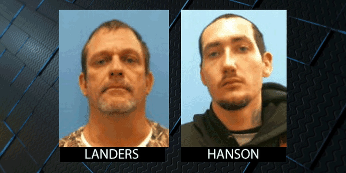 1 inmate captured, 1 inmate still on run after escape from
