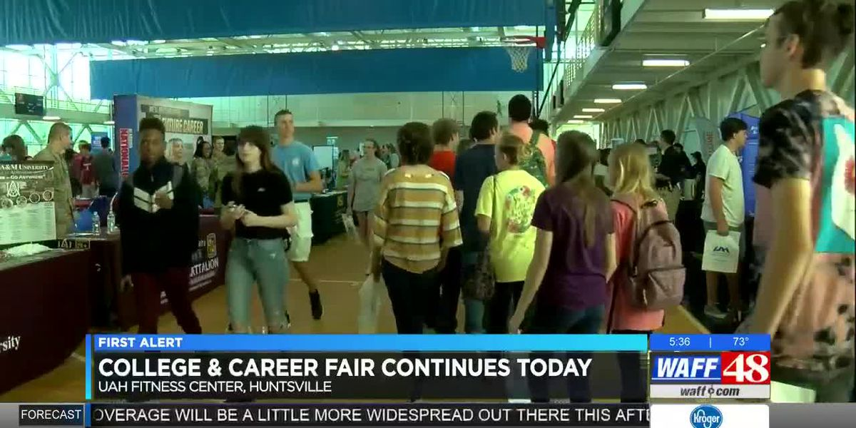 College and career fair at UAH Fitness Center