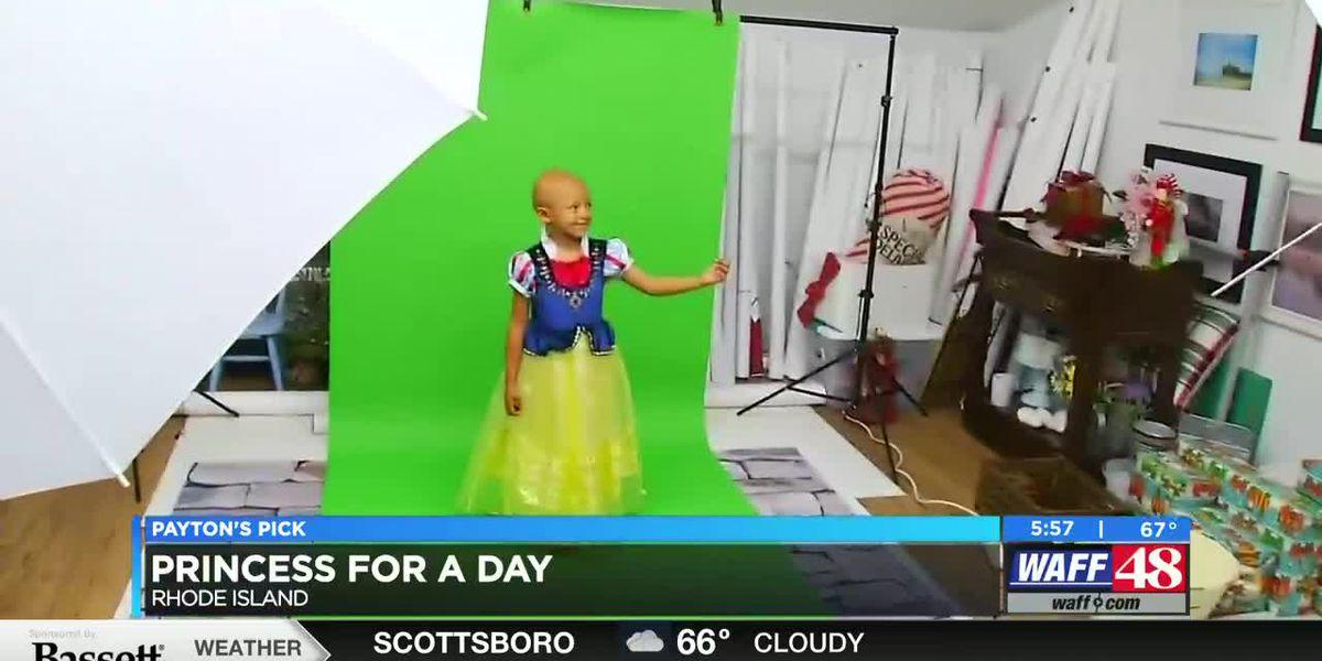 Payton's Pick: 5-year-old battling cancer gets princess photo shoot