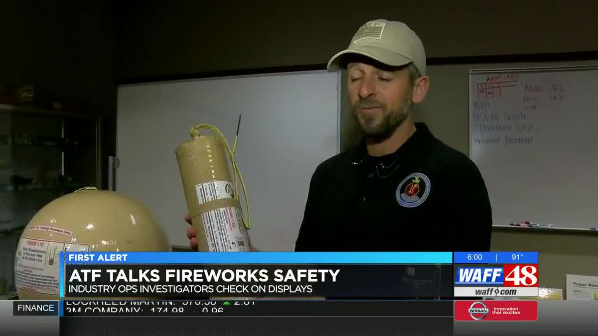 ATF talks fireworks safety, what goes into big Fourth of July shows