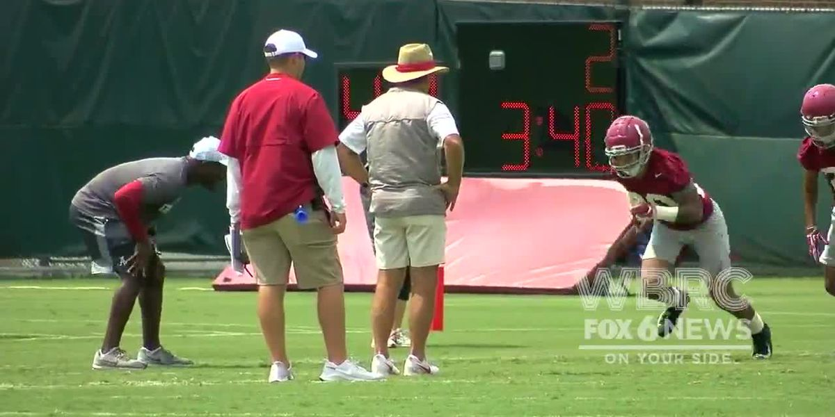 Alabama begins fall camp