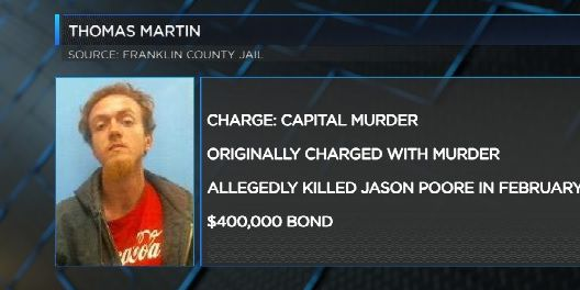 Charges upgraded in Franklin County murder case