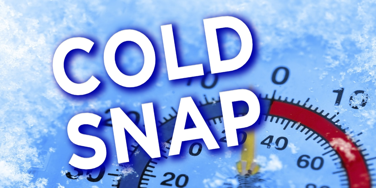 Record cold likely with bitter cold overnight
