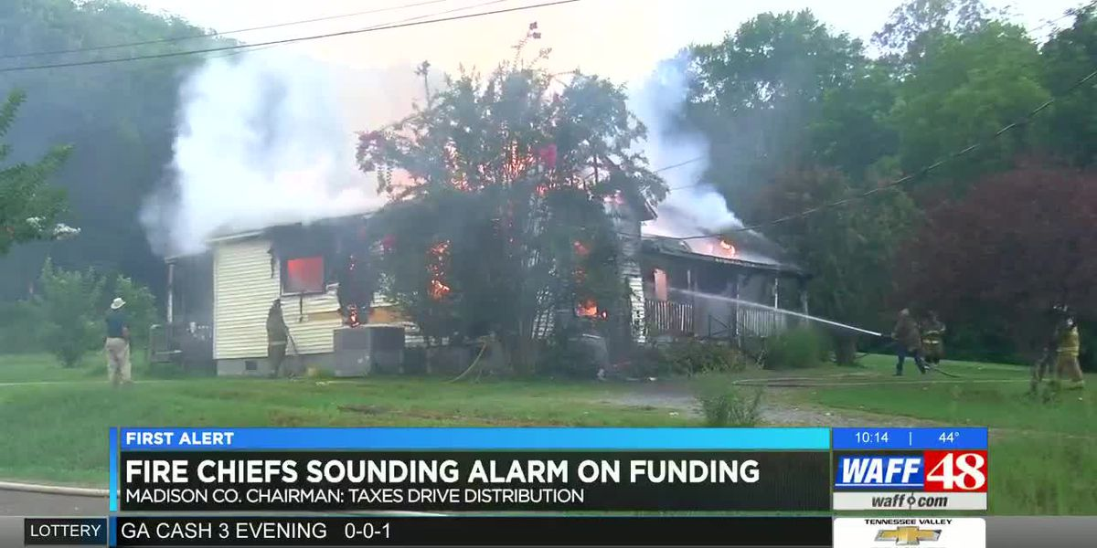 Madison County volunteer fire chiefs call out chairman on funding
