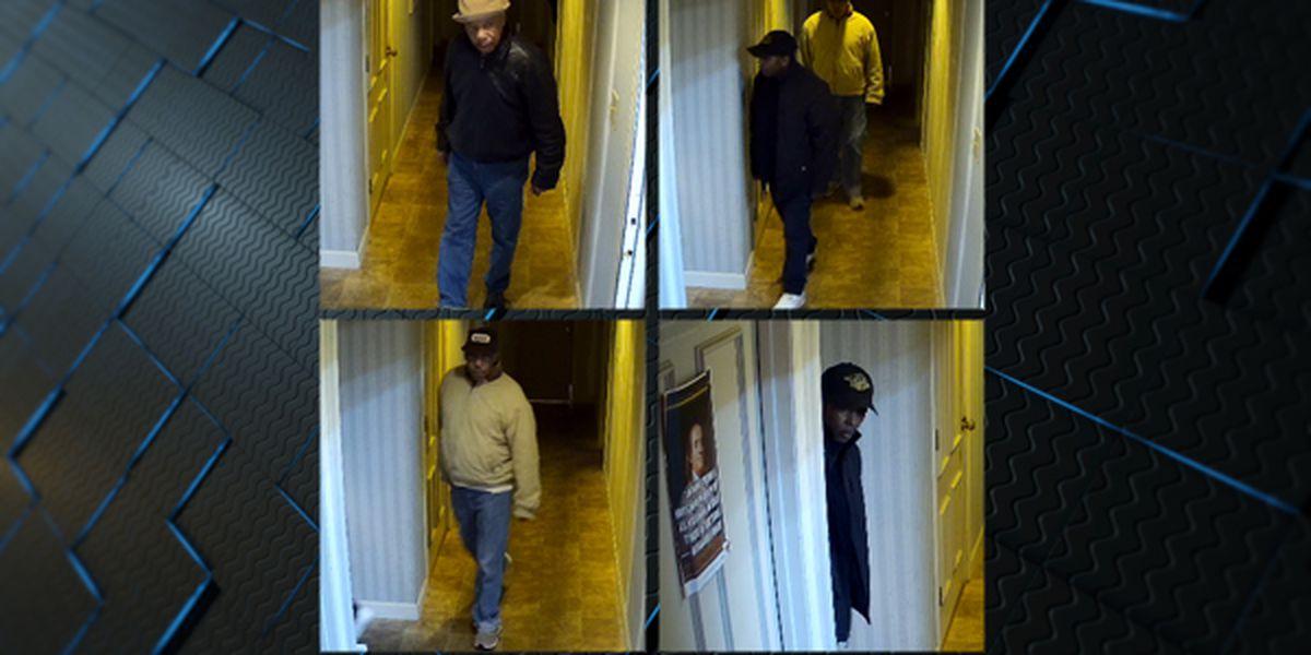 4 sought in downtown Huntsville restaurant burglary