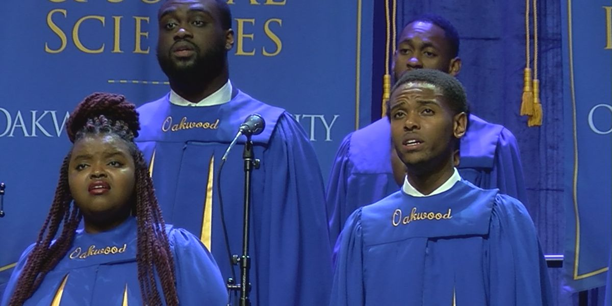 Oakwood University holds graduation one week after choir survives fiery bus crash