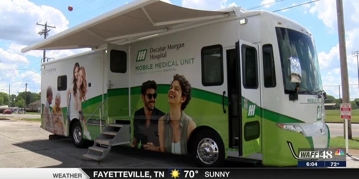 Decatur-Morgan Hospital launches new mobile medical unit