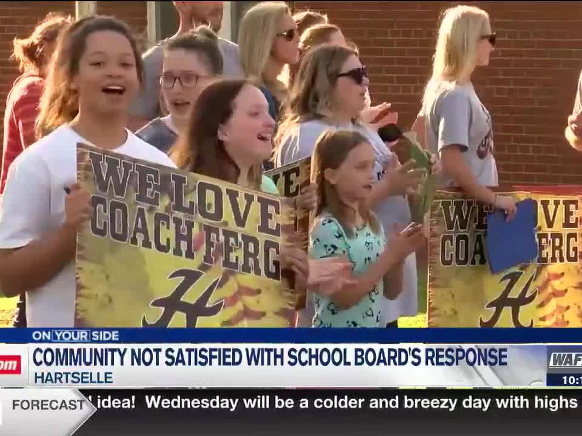 Hartselle community unsatisfied with school board response to softball coach