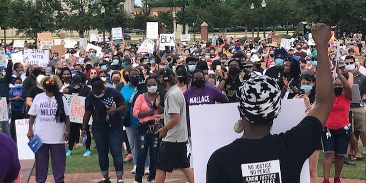 3,500 people show up to Sunday's peaceful protest in Tuscaloosa