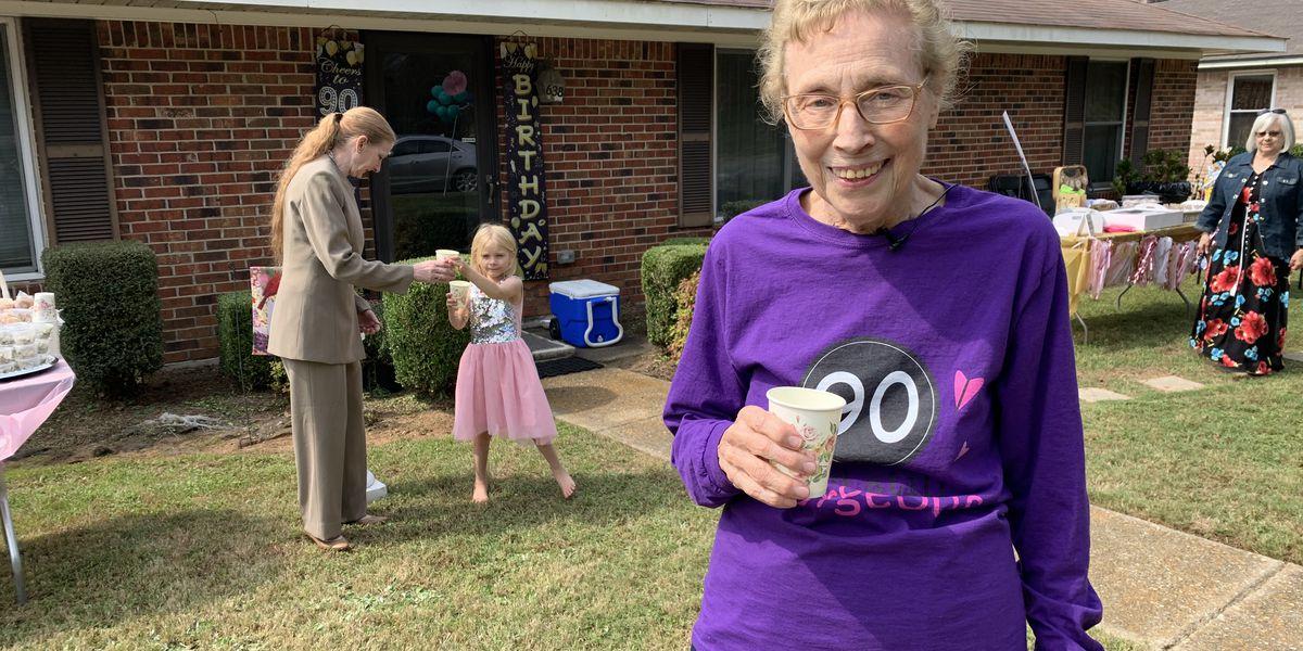 Montgomery woman beats COVID-19, celebrates 90th birthday