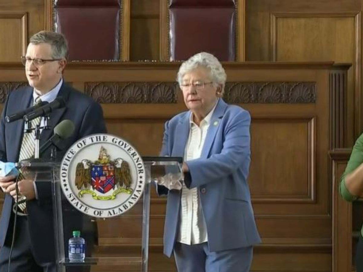 Gov. Kay Ivey extends Safer-at-Home order until November 8; updates long term care visitation restrictions