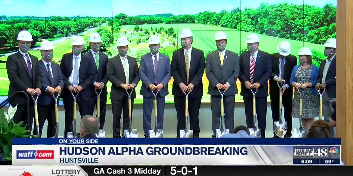 Hudson Alpha Groundbreaking in Huntsville