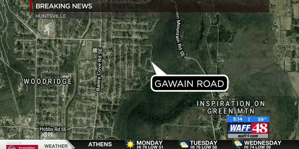 Shooting investigation ongoing on Gawain Road in southeast Huntsville