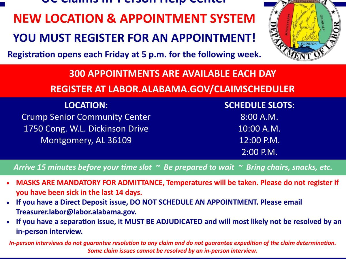 ADOL opens 300 appointments a day to meet in-person