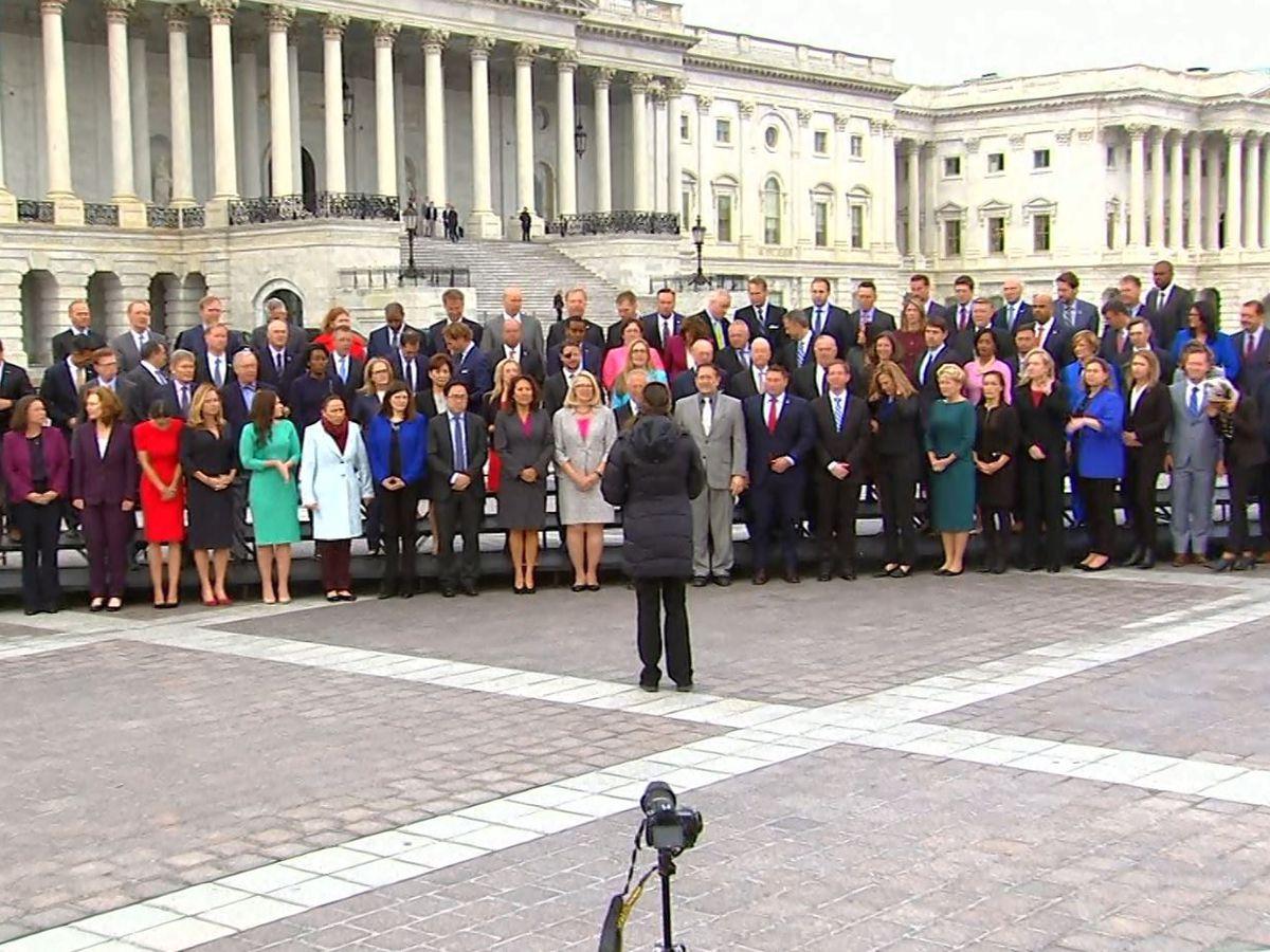 Freshman class of 116th Congress invades Washington