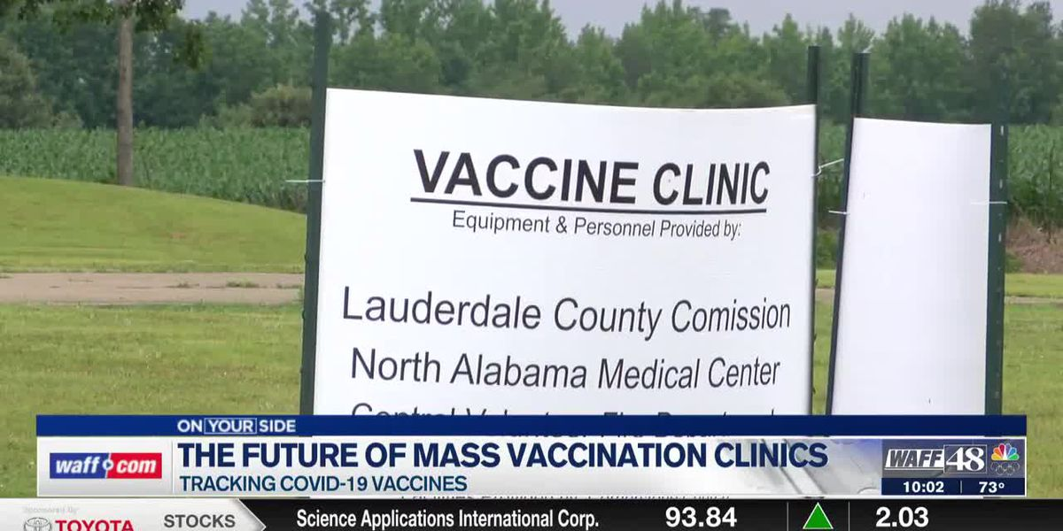 Lauderdale County remains persistent with mobile vaccine clinics despite declining numbers