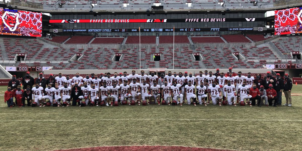 Fyffe Red Devils win 5th championship, 3rd in a row