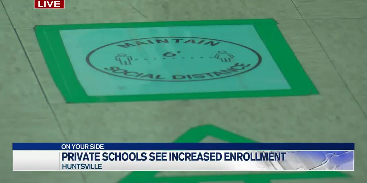 Private schools see increased enrollment due to pandemic