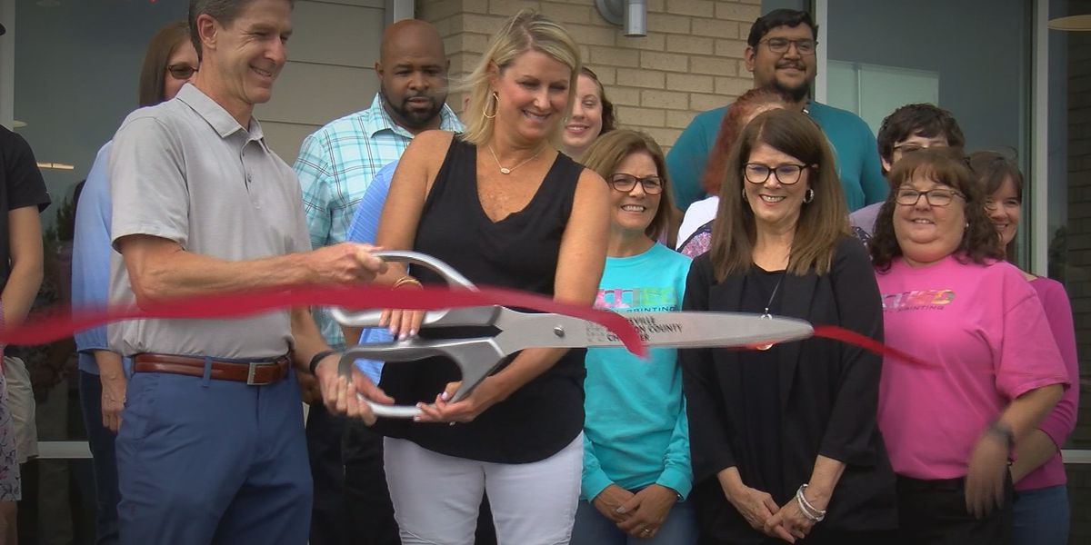 Longtime Huntsville company destroyed in fire cuts the ribbon on new facility