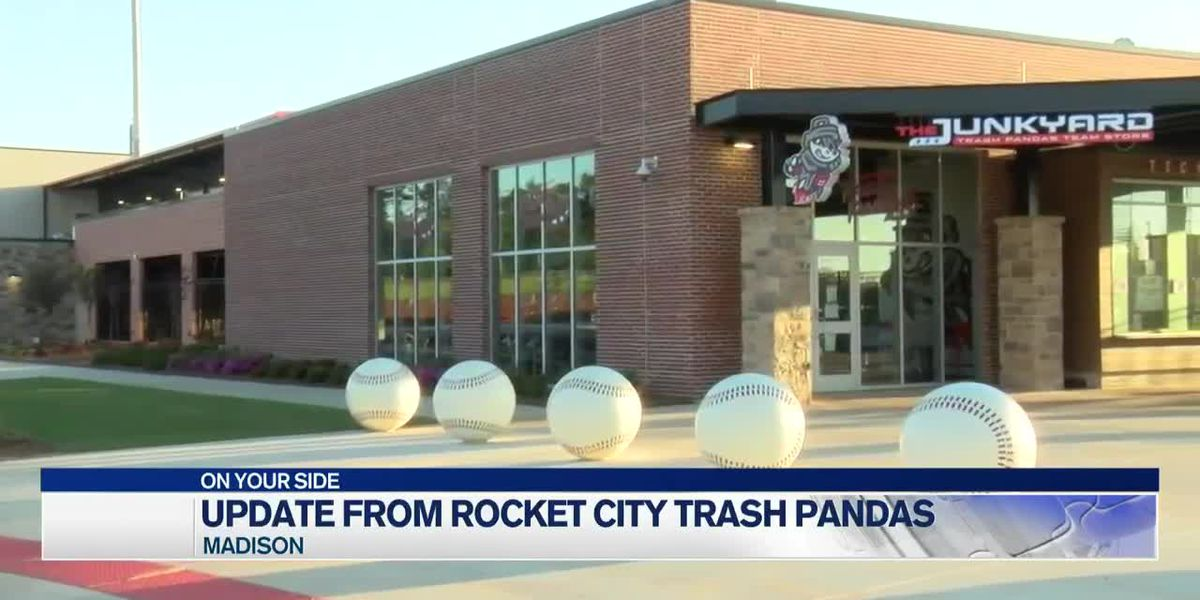 COVID-19 update from the Rocket City Trash Pandas