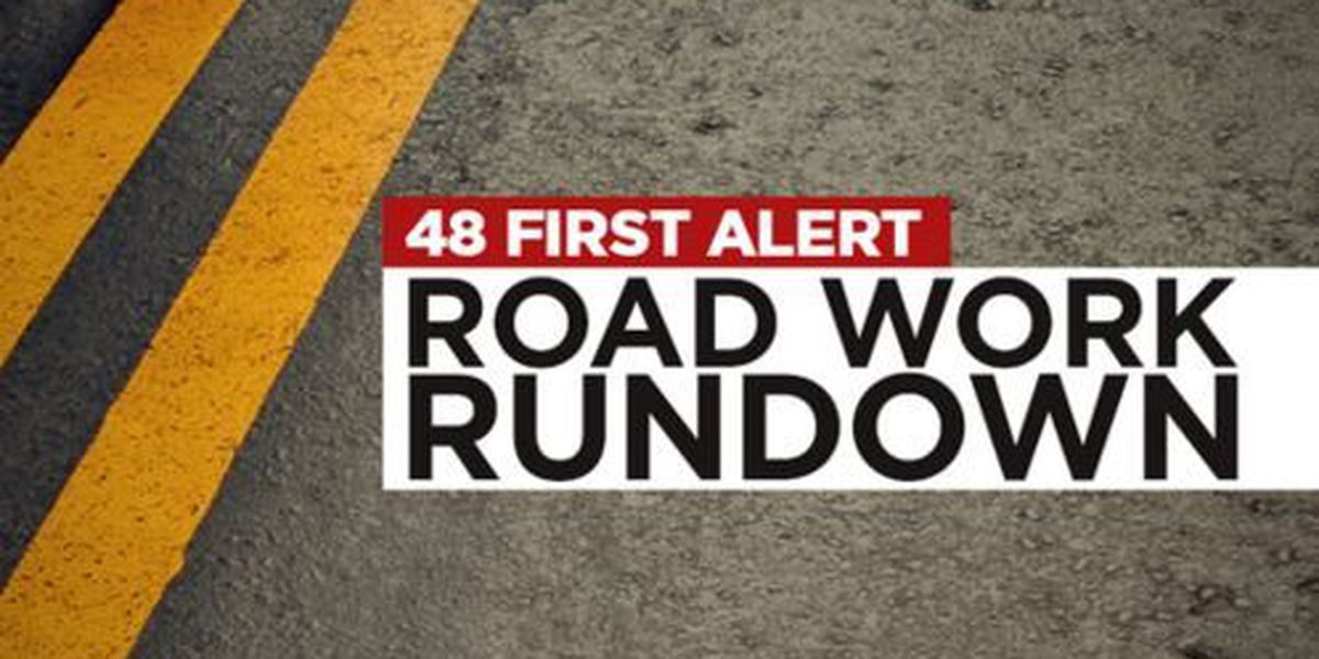 Road work in Marshall County