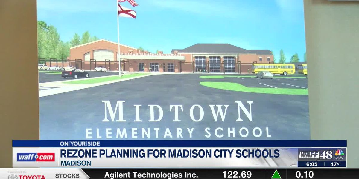 Madison City Schools giving parents a chance to voice their opinion on rezoning