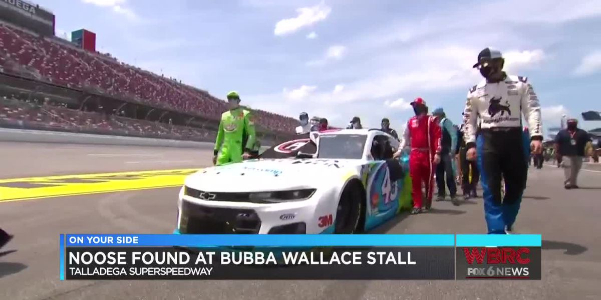 FBI: Video evidence shows noose found in garage of Bubba Wallace had been there since Oct. 2019