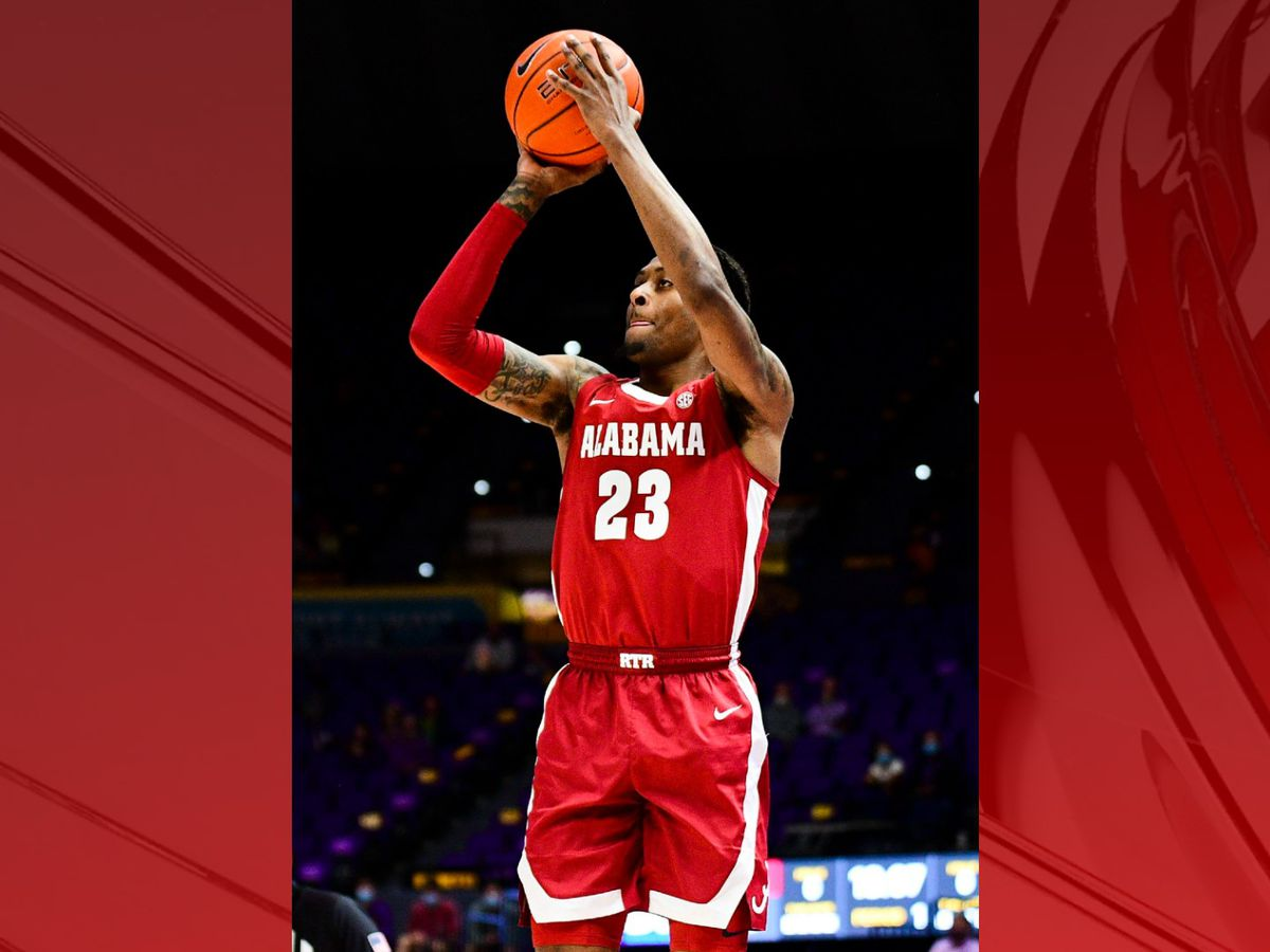 Tide's hot shooting, winning streak continues behind Huntsville native