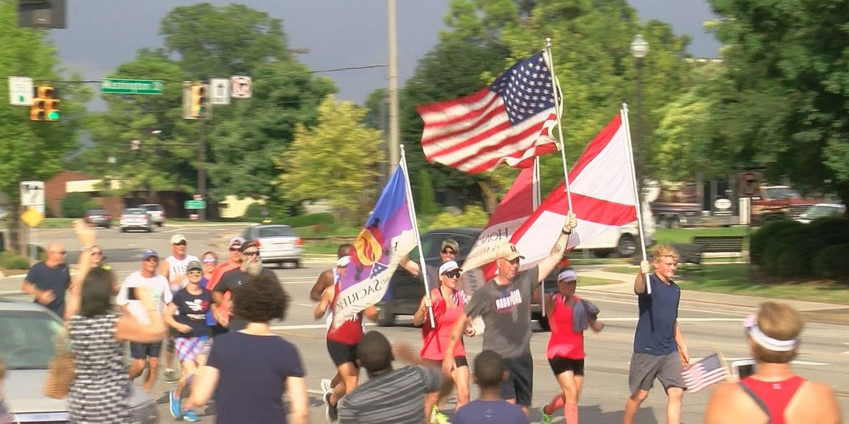 """Run for the Fallen"" completes Huntsville leg"