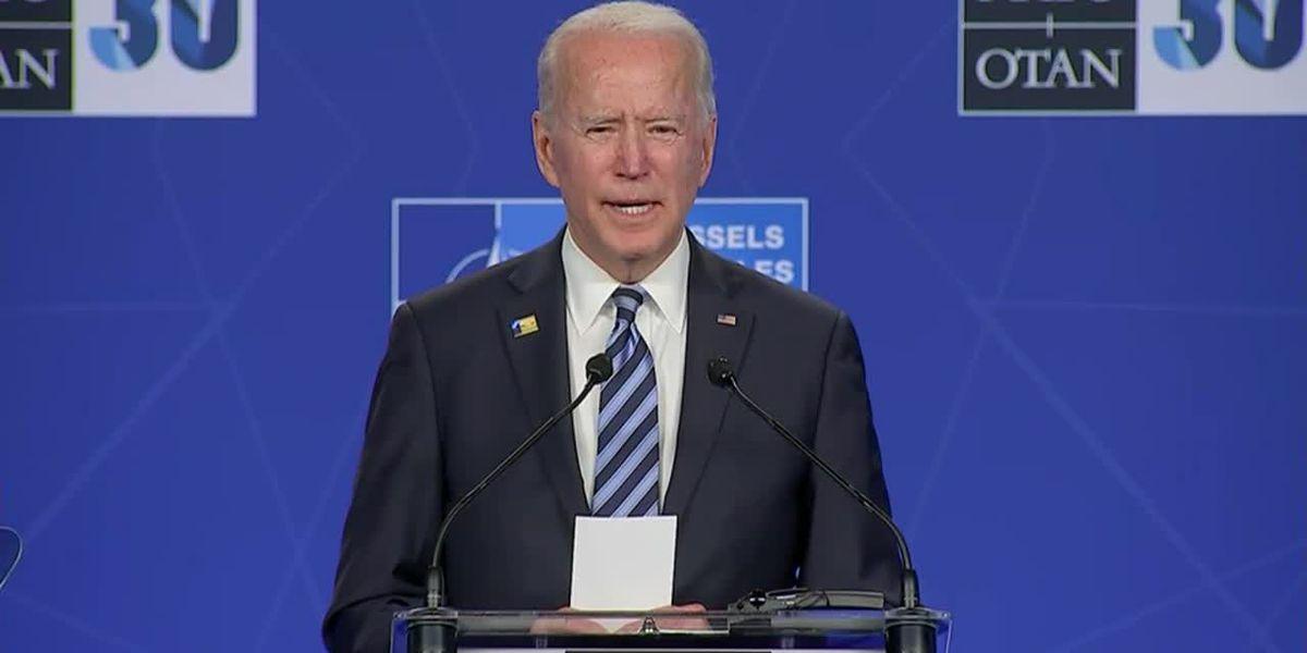 Biden arrives in Geneva for highly anticipated Putin meeting