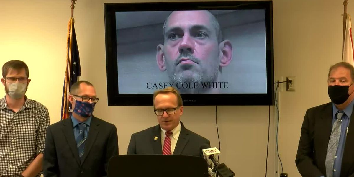 Casey Cole White charged with murder of Connie Ridgeway