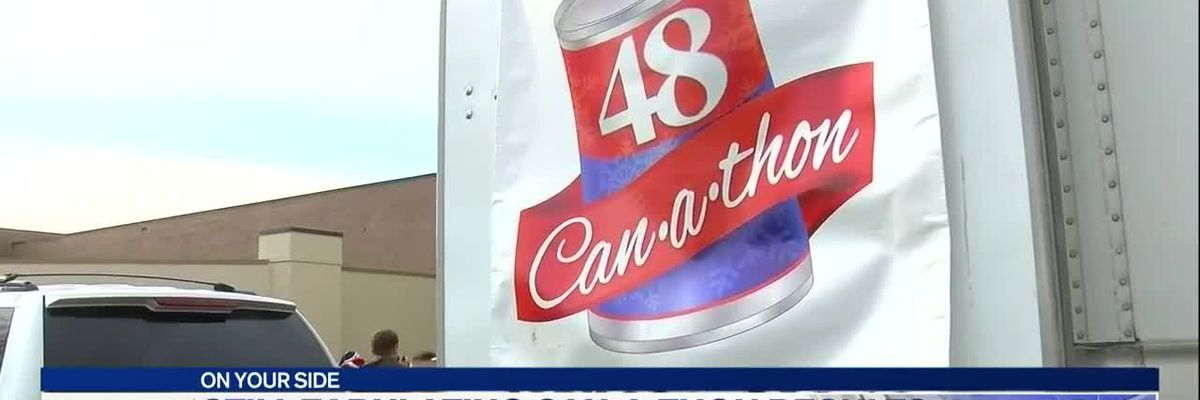 Can-a-thon results set to be announced this evening