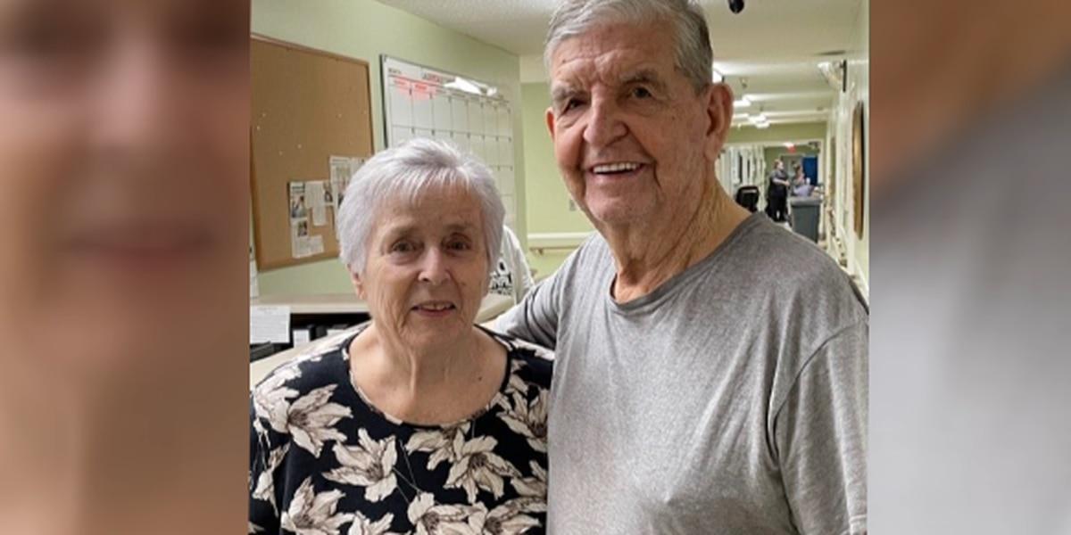 Lauderdale Christian Nursing home couple celebrates 62nd Valentine's Day together