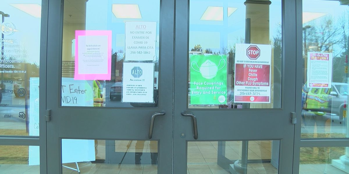 Marshall County Health Department give out hundreds of vaccines at walk-in-clinic
