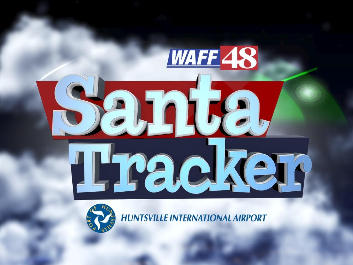 WAFF 48 Santa Tracker