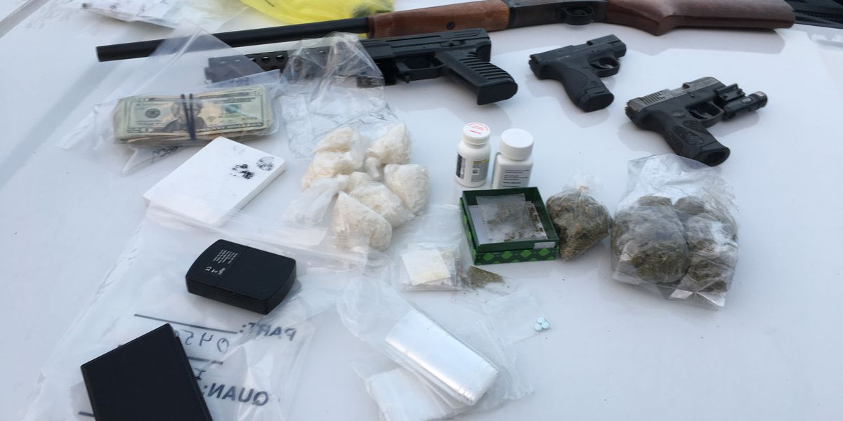 5 arrested in Owens Cross Roads drug raid