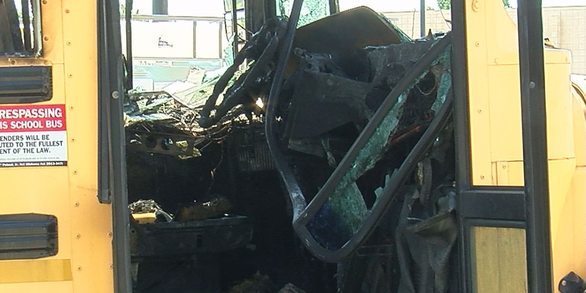 Investigators determine cause of Madison County school bus fire