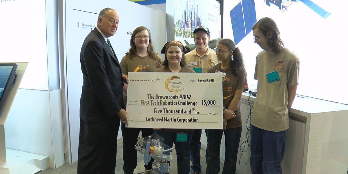 Lockheed Martin donates $5K to Huntsville STEM club