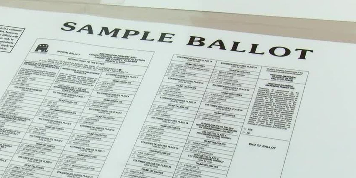 Sample ballots, race details for August 25 municipal elections