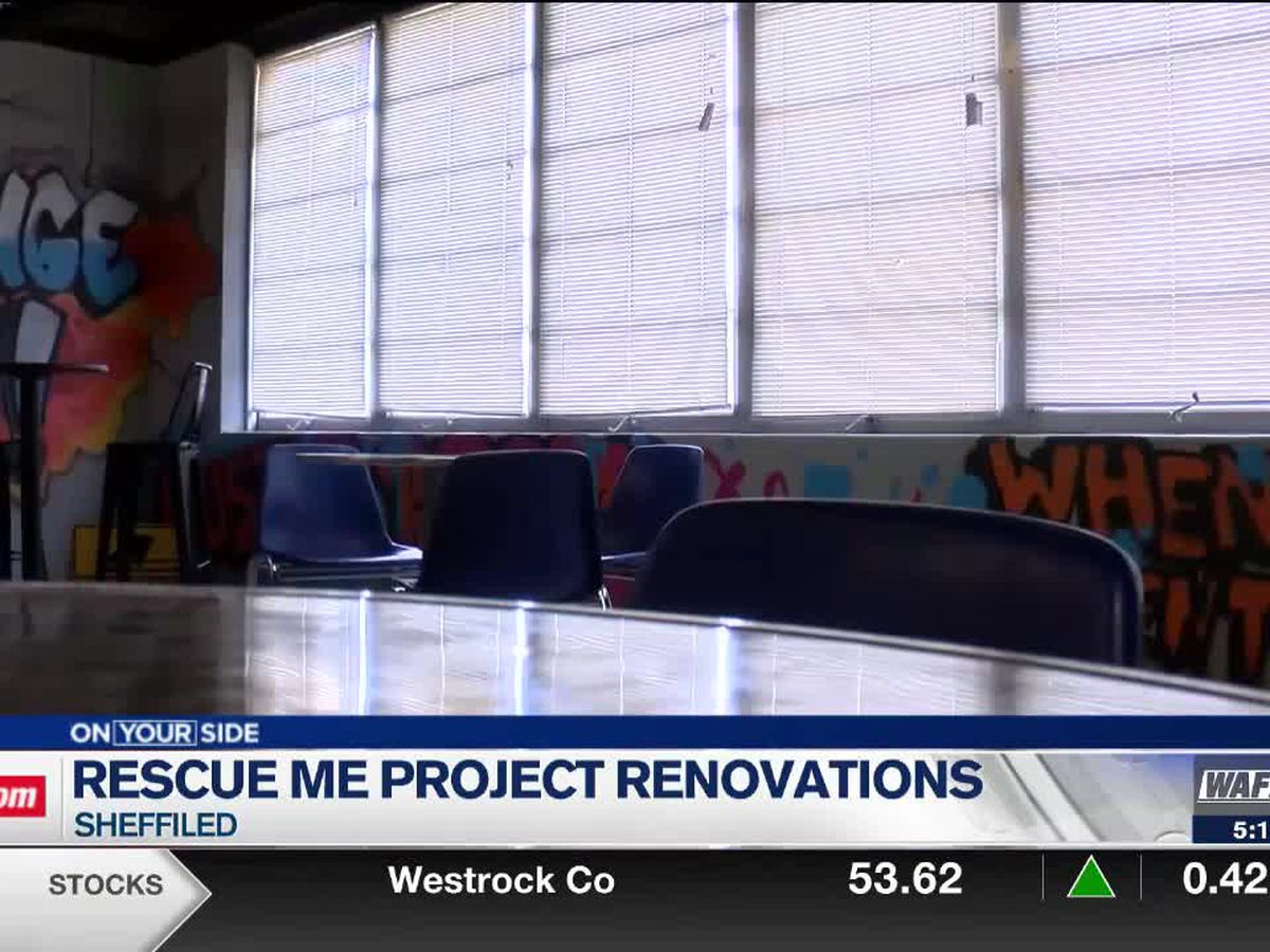 Rescue Me Project hard at work with renovations at new youth center