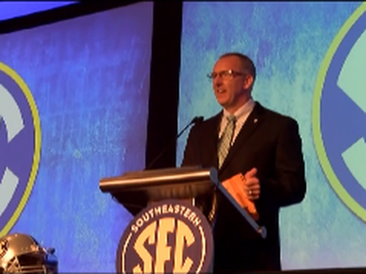 SEC Announces Appearance Schedule for 2021 Football Media Days