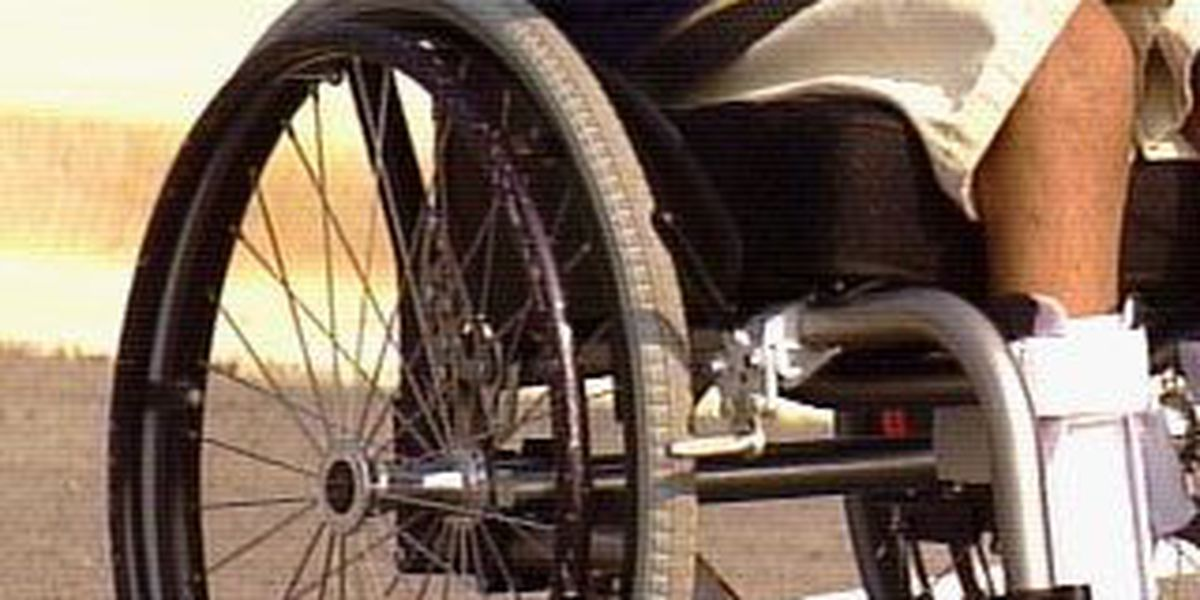Students benefit from wheelchair wash
