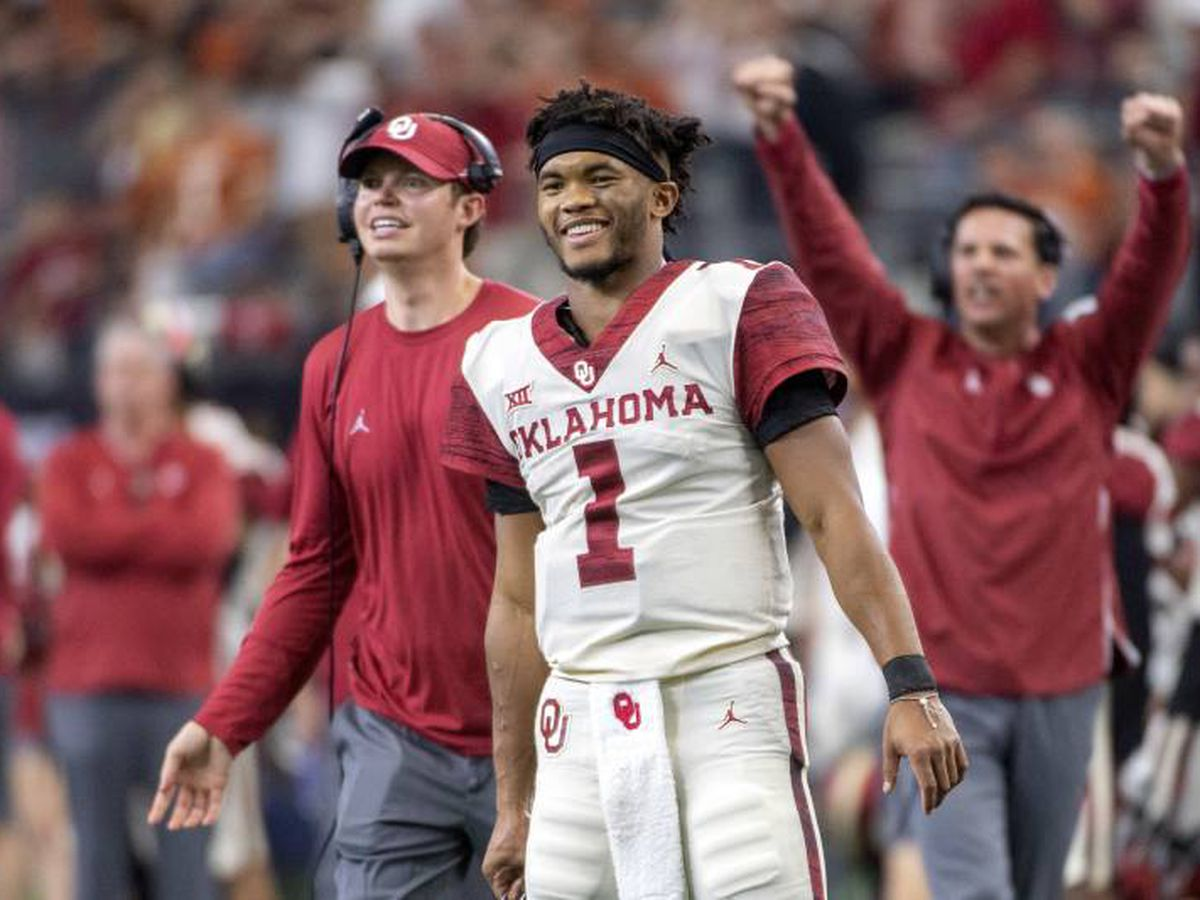 Oklahoma's Kyler Murray takes the Heisman