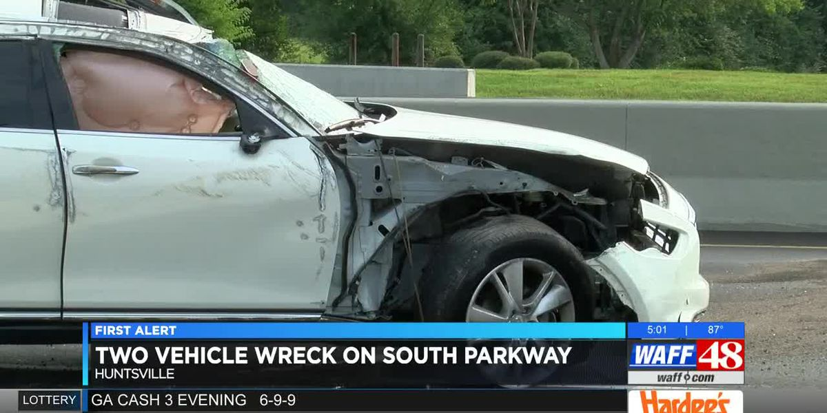 Two injured in South Parkway car accident