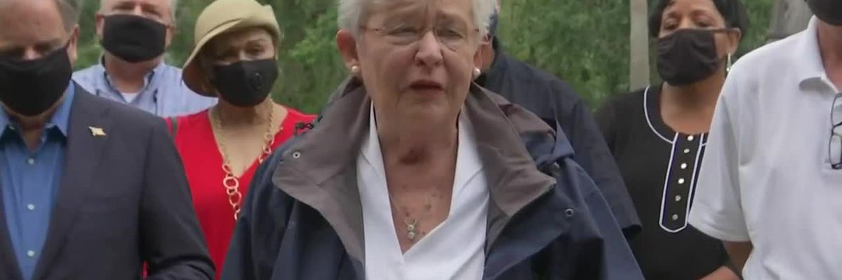 Governor Ivey, state leaders give update on Hurricane Sally