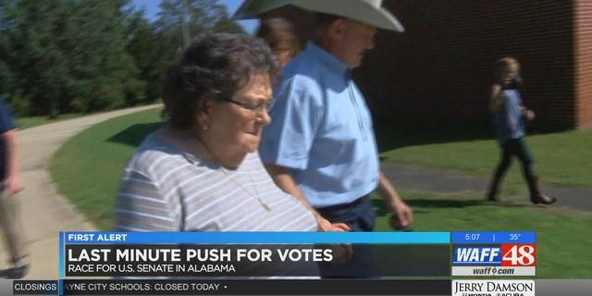 Party leaders last push to Election Day