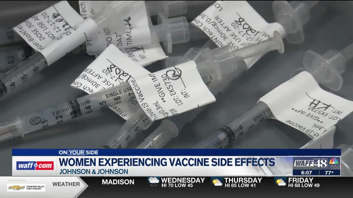 Blood clots potentially linked to the J&J vaccine affected only women