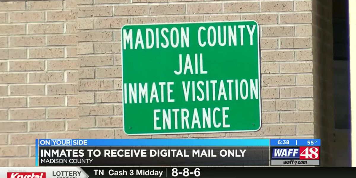 Madison County Jail adopts digital mail system to prevent drug mailings