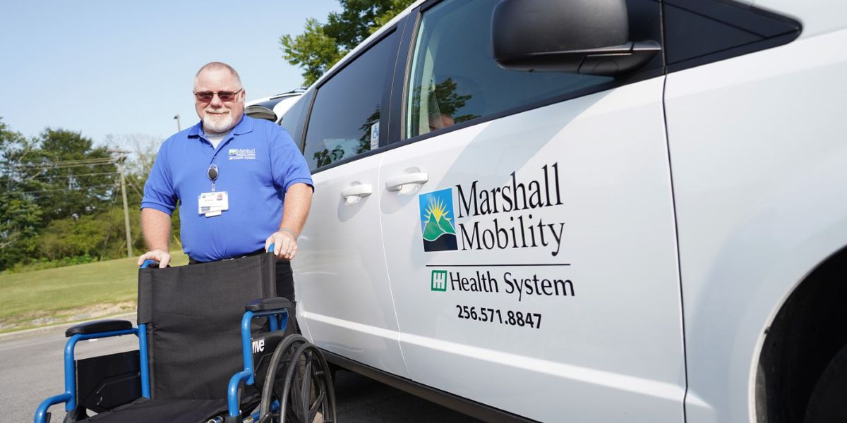 Marshall Mobility; Marshall Medical Centers' new transportation service